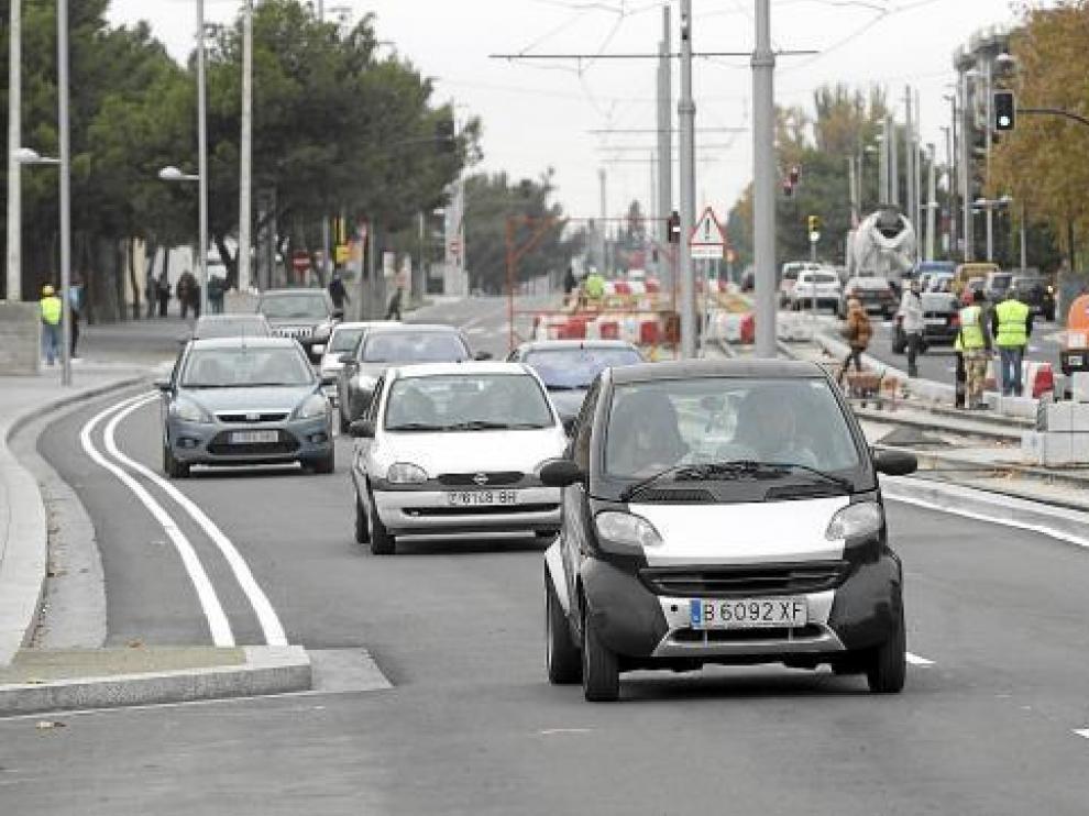 El tráfico ya circula por Vía Ibérica sentido entrada de la ciudad.