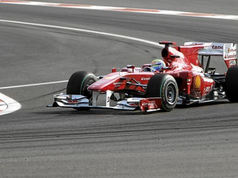 Felipe Massa fue el más rápido ayer en Abu Dabi.