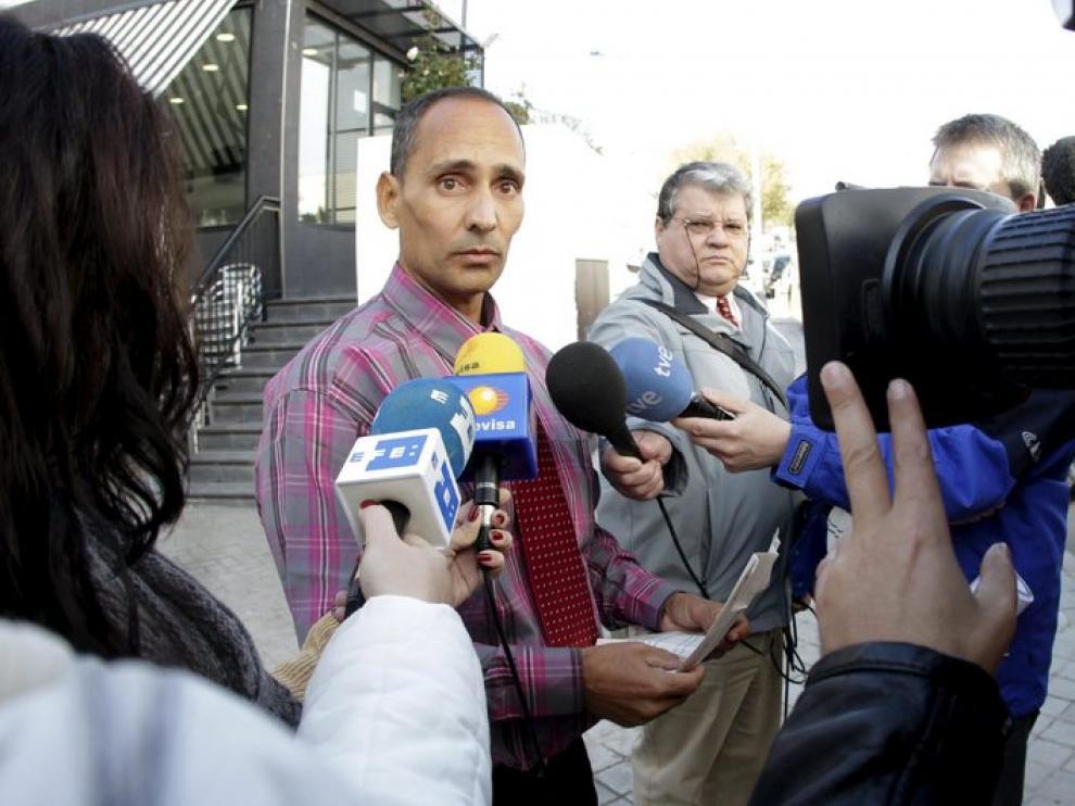 Adrián Álvarez, a su llegada a Cuba