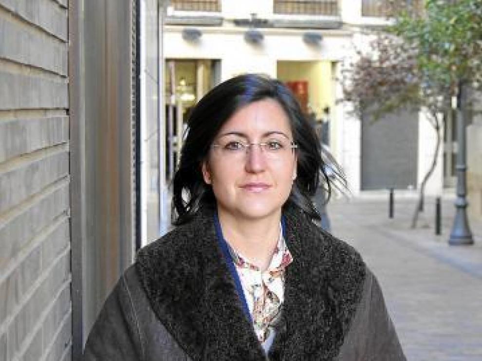 Marian Embid, en paro desde julio de 2010.