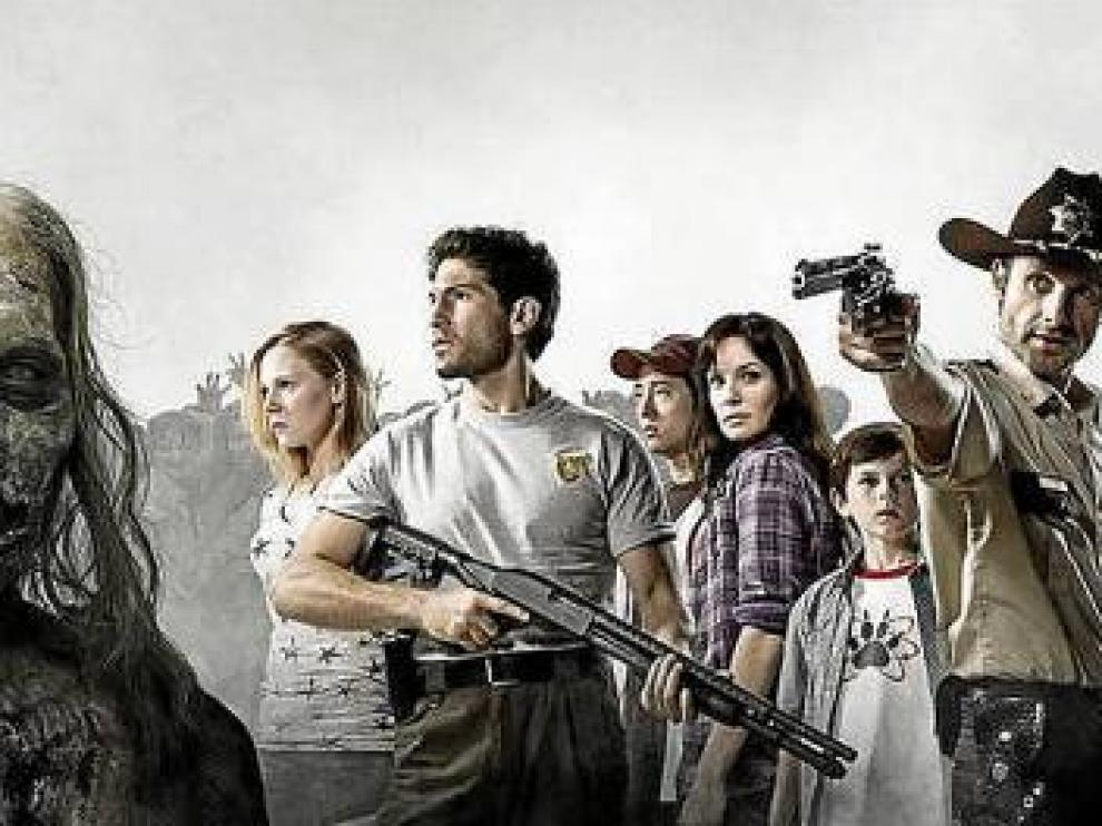 Imagen promocional de la serie 'The walking dead'.