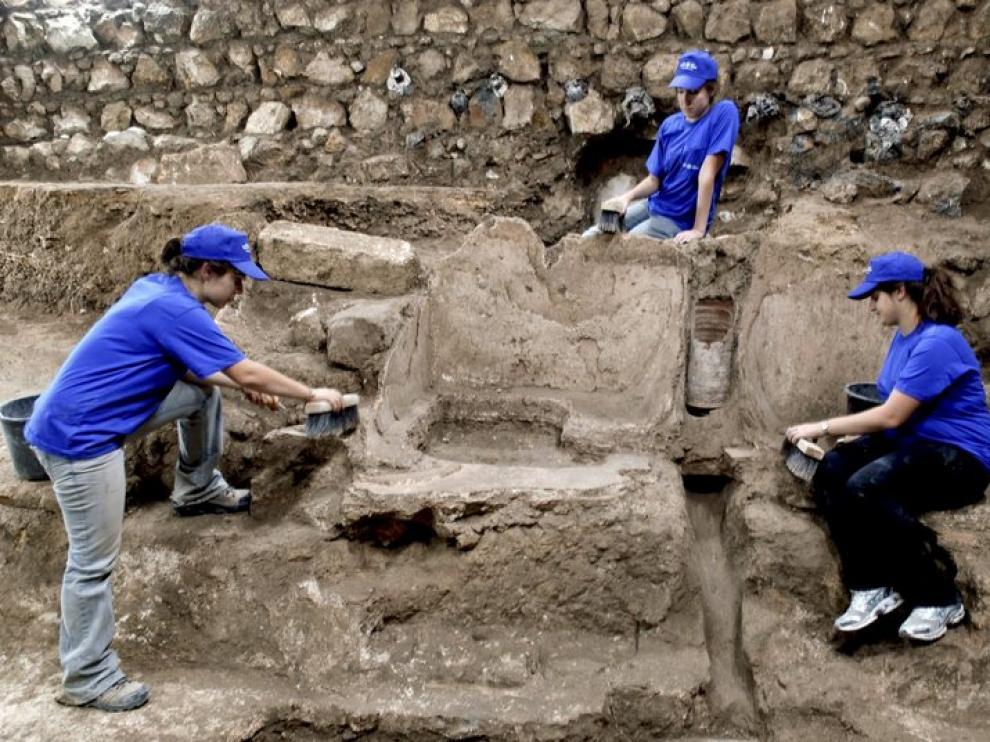 Excavación arqueólogica.