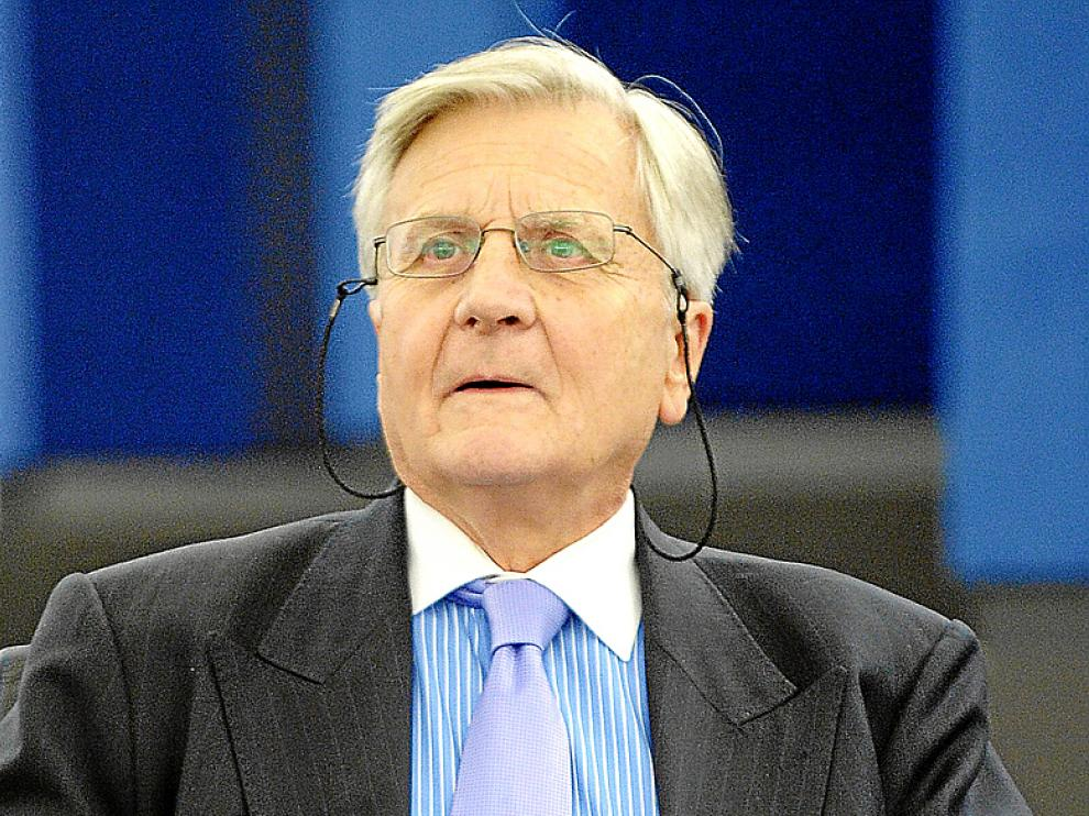 Jean-Claude Trichet, en el Parlamento europeo