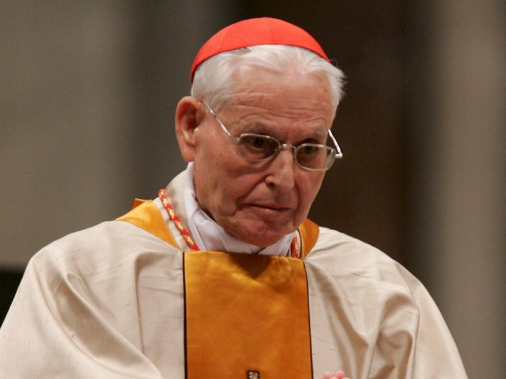 El cardenal Urbano Navarrete