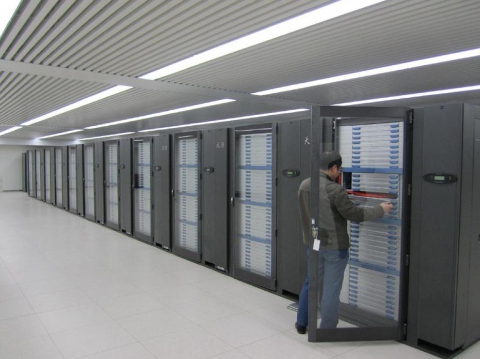 Tianhe 1A está en el Centro Nacional de Supercomputación de Tianjín (China)