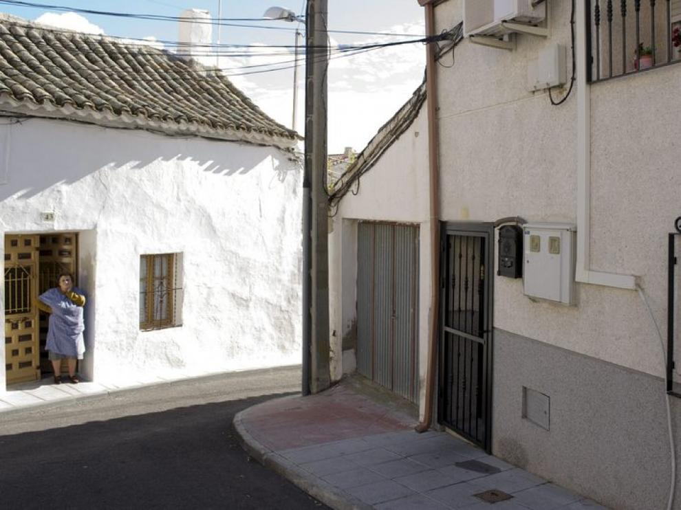 Una de las casas donde se han producido detenciones