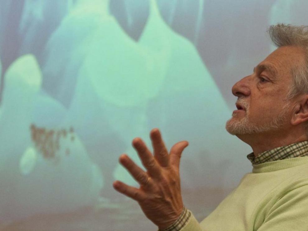 Enamorado de la Antártida, Javier Cacho se dedica ahora a divulgar las investigaciones que allí se desarrollan
