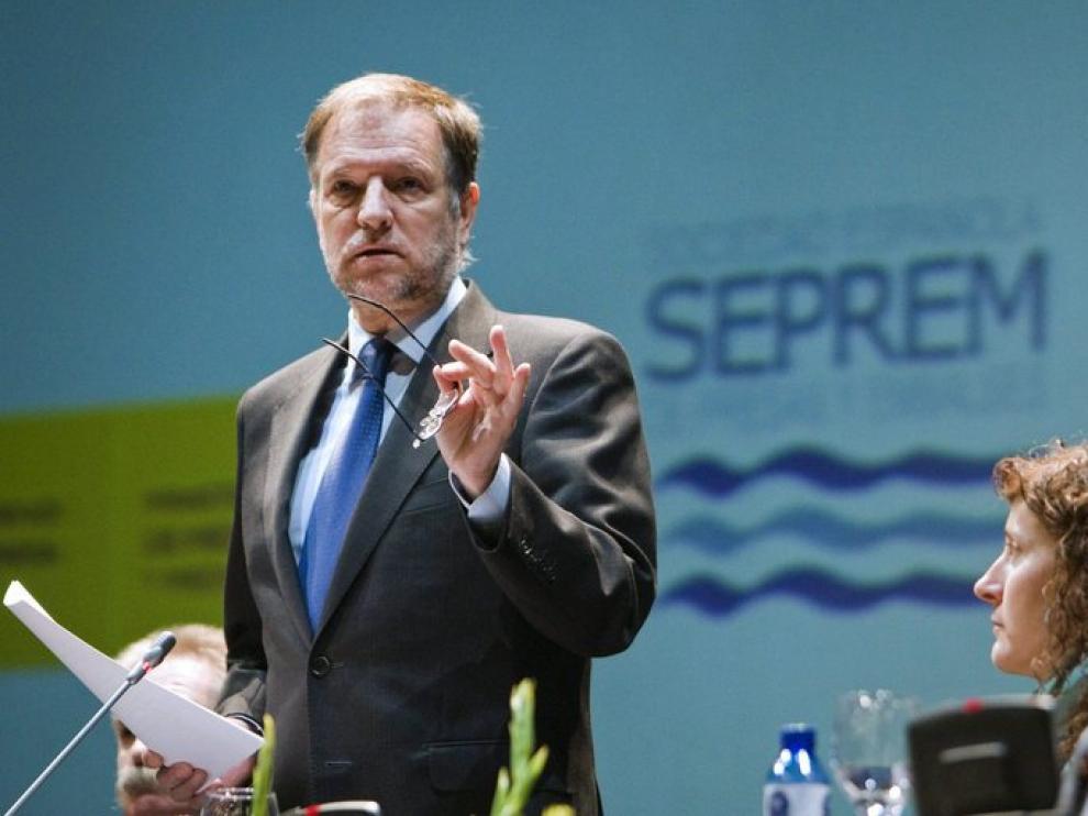 Iglesias ha estado en el Congreso Internacional de Conservación de Presas