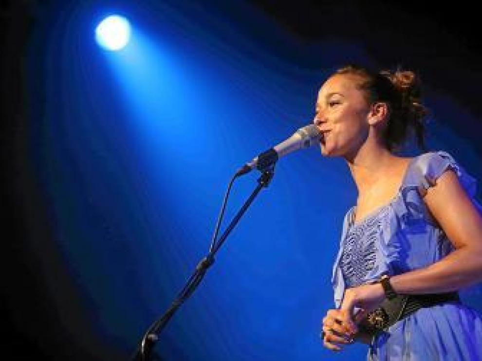 La cantante Beth, en una actuación reciente.