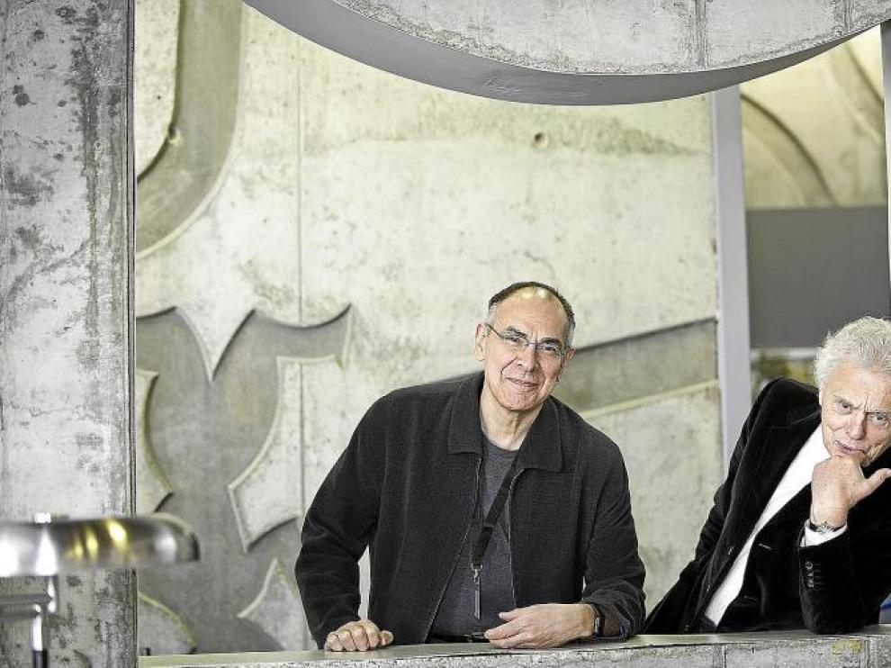 George Yudice y Allen J. Scott intervienen hoy en las jornadas sobre ciudades creativas que se desarrollan en Zaragoza.