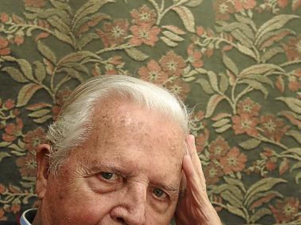 Santiago Lorén, en una foto tomada en febrero pasado.