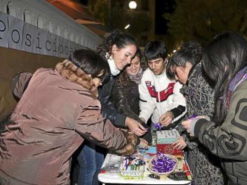 Cruz Roja Juventud hizo labor de sensibilización contra el maltratro.