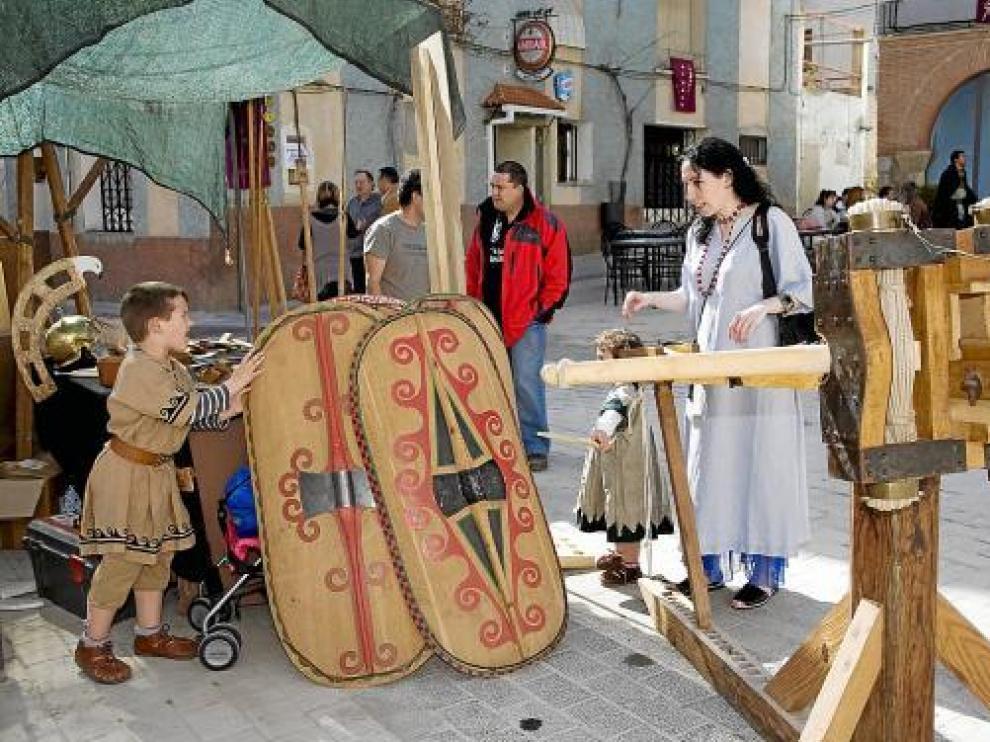 Los talleres, como el de la imagen de archivo, son una parte importante en la fiesta de Los Idus.