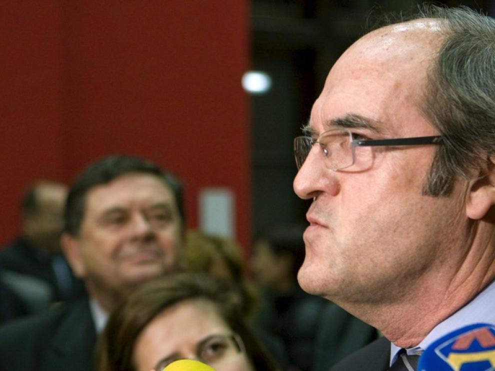 El ministro de Educación, Ángel Gabilondo
