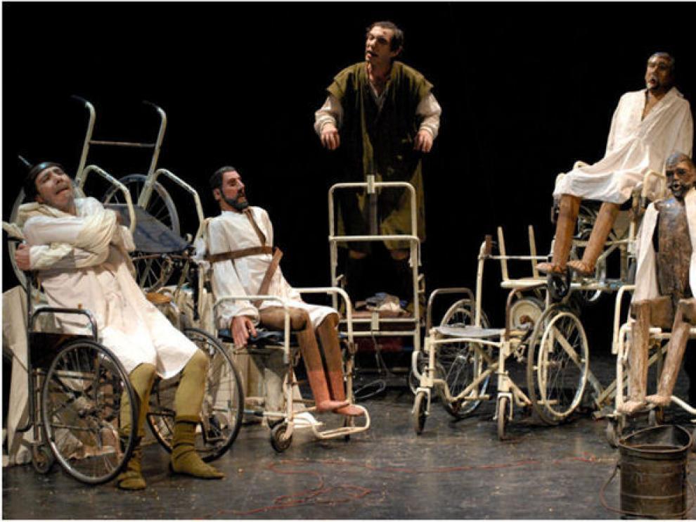 Último montaje teatral de La Zaranda