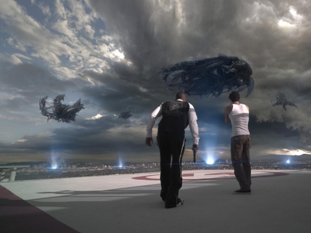 Fotograma de 'Skyline'