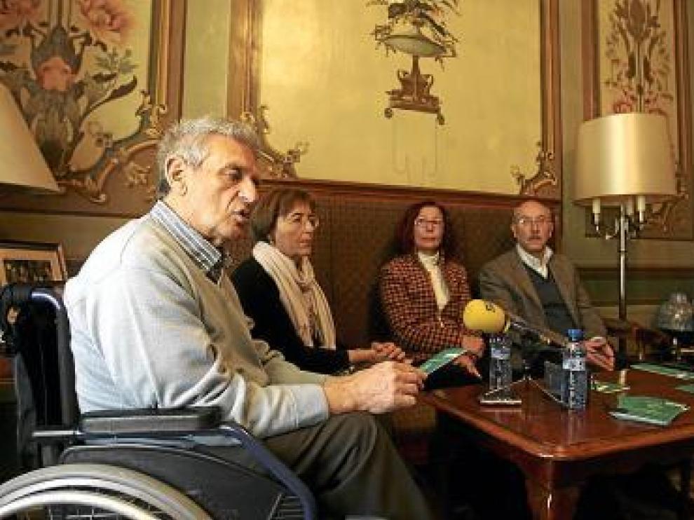 Ángel Gabi, Pilar García, Carmen Cáceres y Domingo Malo.