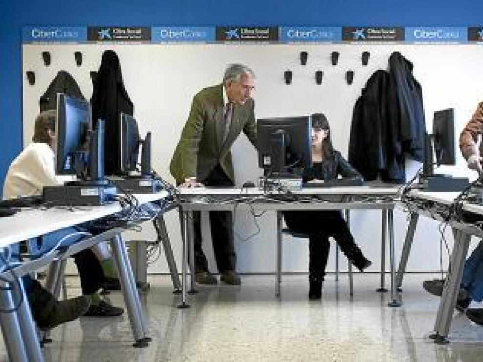 En las clases cuentan con la más moderna tecnología.