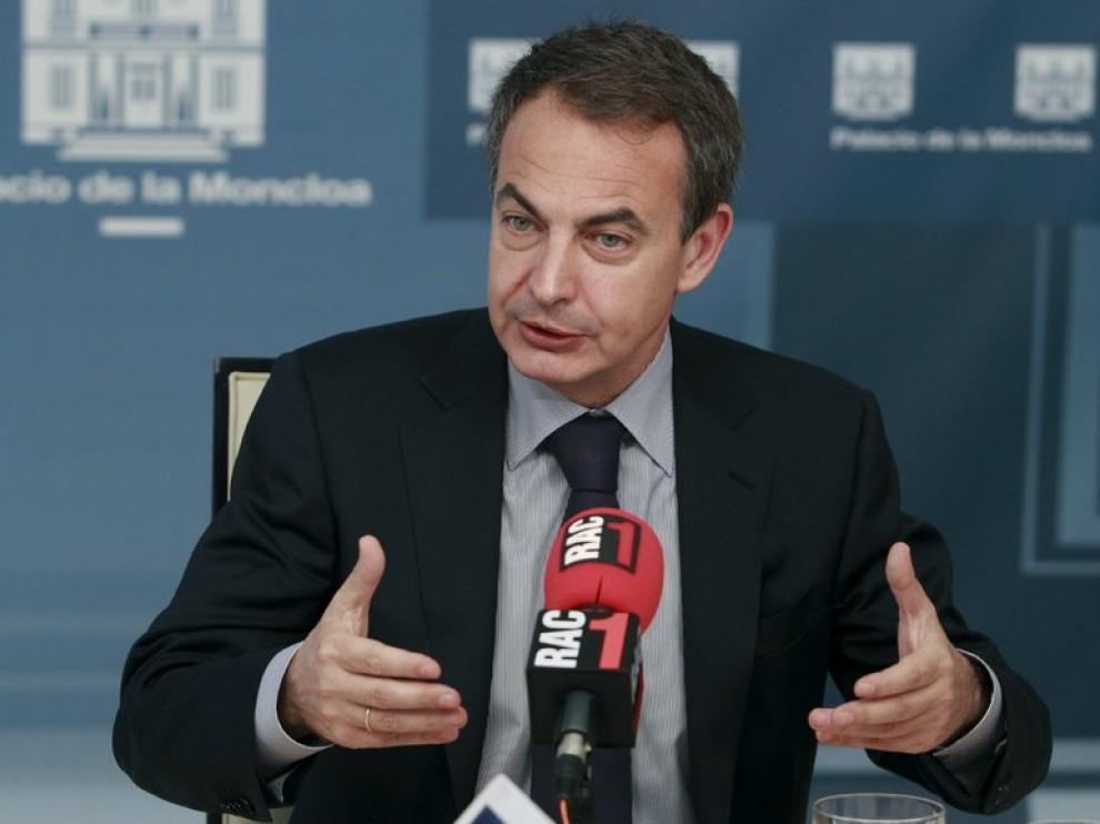 El presidente Rodríguez Zapatero