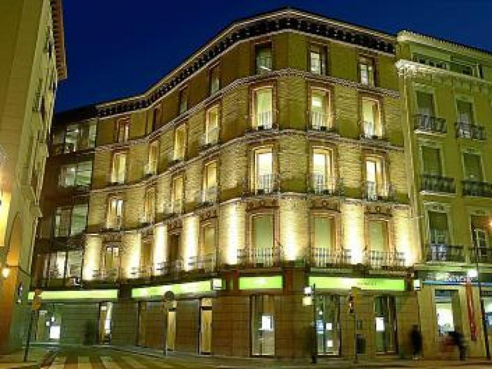 Sede central de Cajalón en Zaragoza.