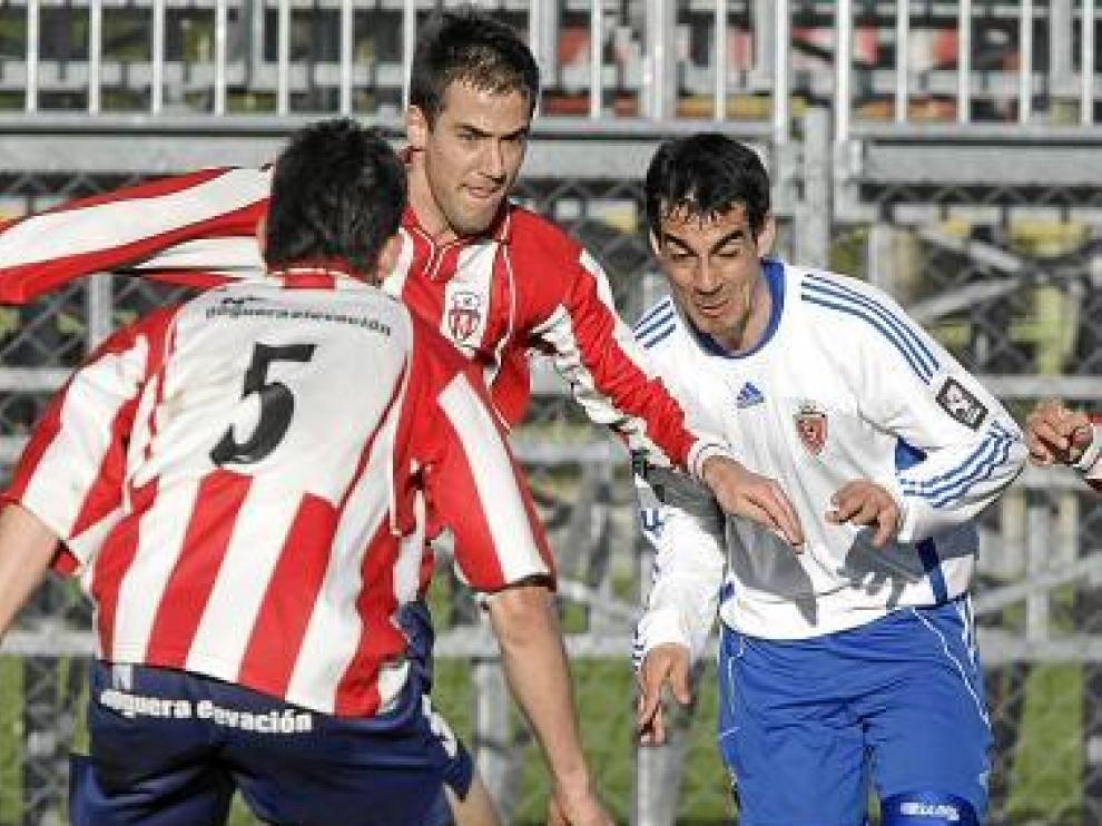 El Sabiñánigo visita la Ciudad Deportiva, a las 12.00.