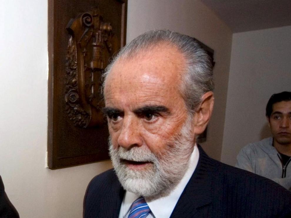 Imagen de archivo del político liberado