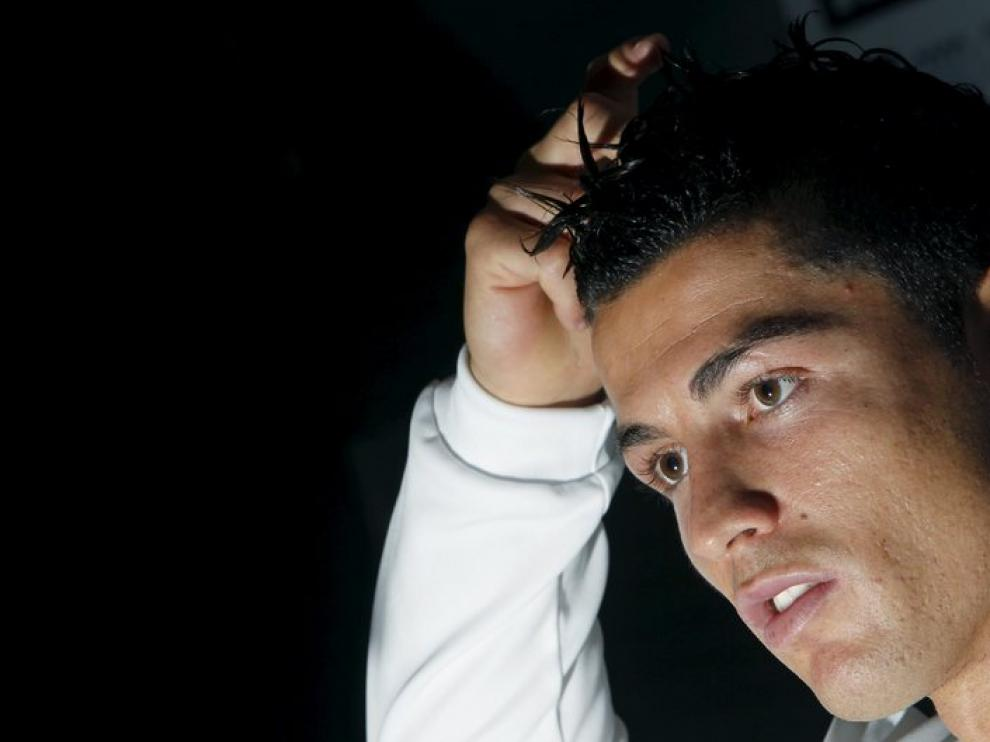 Cristiano Ronaldo, en rueda de prensa