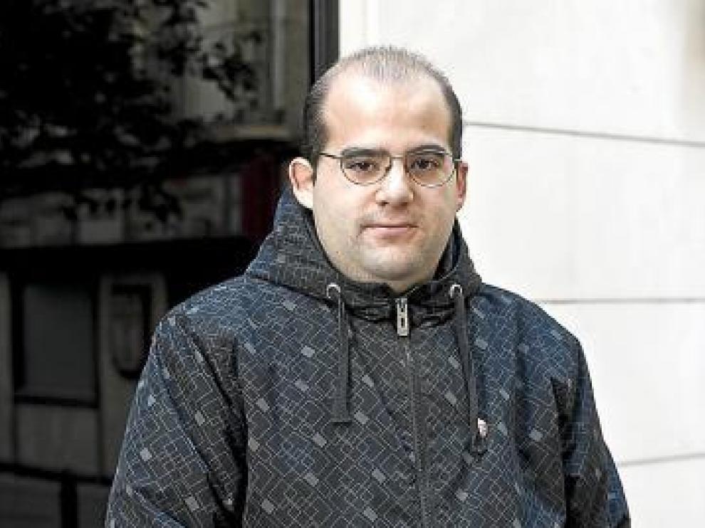 Luis Alberto García, en paro desde julio de 2008.