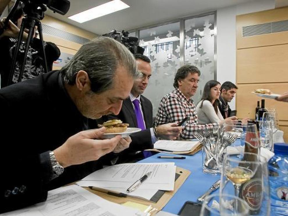 Raúl Pobo y Hugo López, del Elíseos, ganan el Certamen de Cocina de Aragón