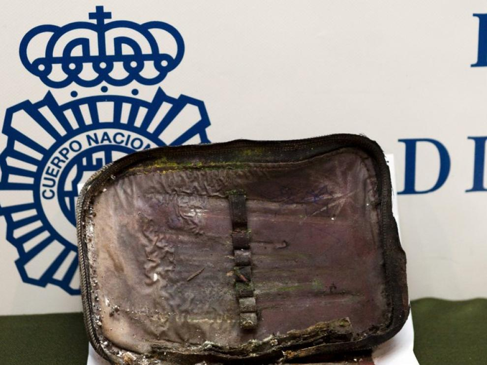 La maleta en la que la madre guardó el cadáver de su hijo