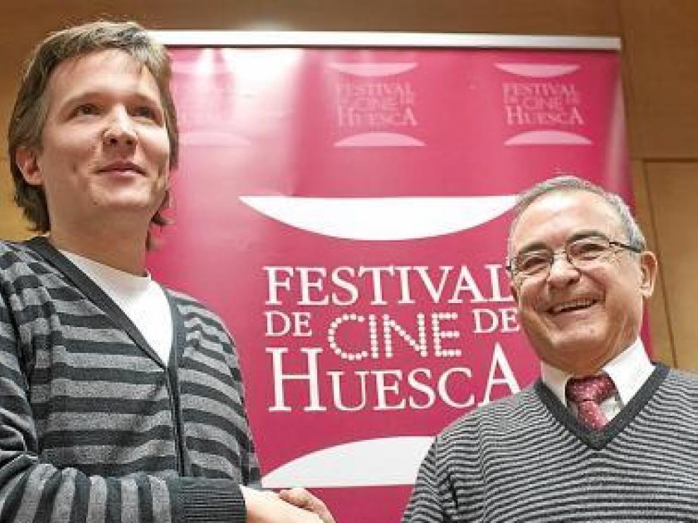 Orencio Boix y Ángel Garcés.