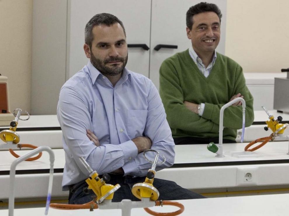 Jesús Martínez de la Fuente y Carlos Martín, premios Aragón Investiga