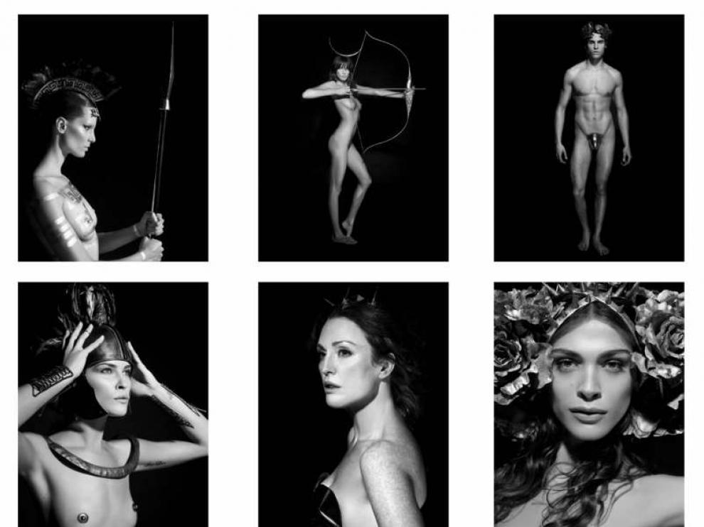 Karl Lagerfeld, que ha fotografiado a actrices y modelos como Julianne Moore, Erin Wason, Daria Werbowy o Brad Kroenig
