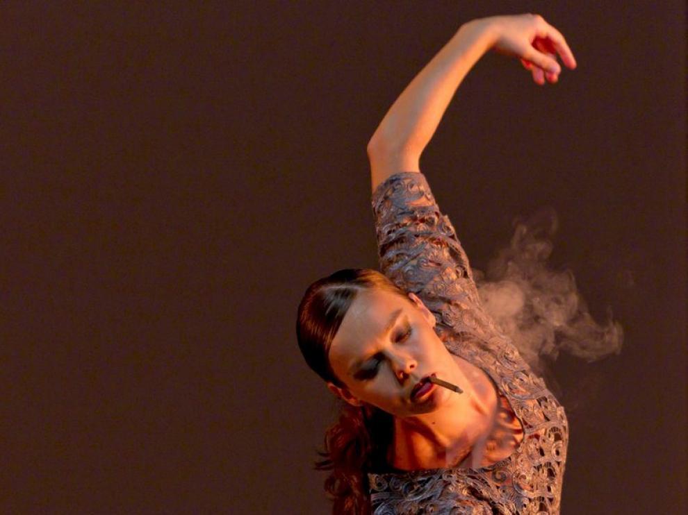 La bailaora Rocio Molina, premio de Danza 2010