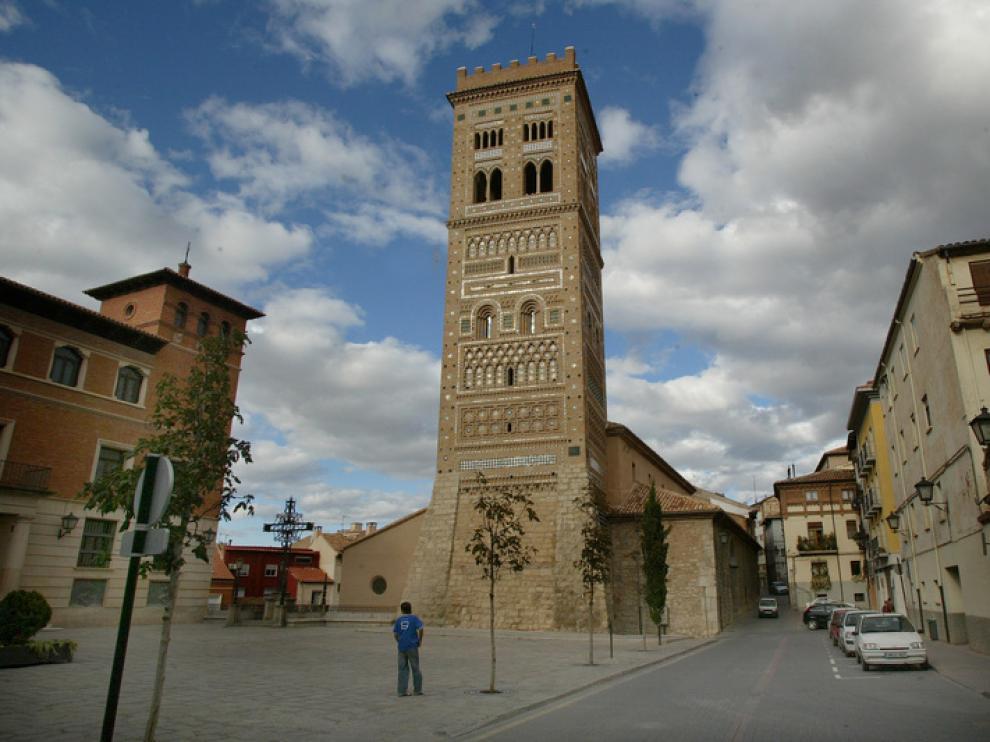 Las torres mudéjares de Teruel merecen ser analizadas al detalle por su profusa decoración geométrica