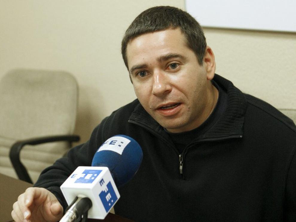El hermano de José Couso en rueda de prensa