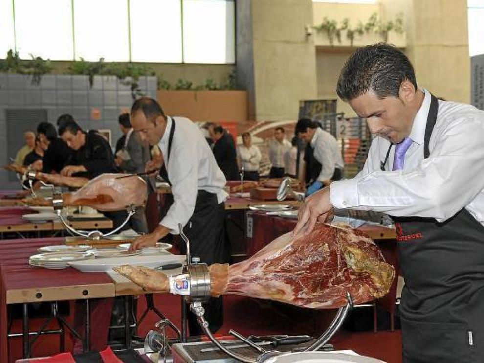 La Feria del Jamón y Alimentos de Calidad -en la foto de archivo-, entre las que se celebrarán en 2011.