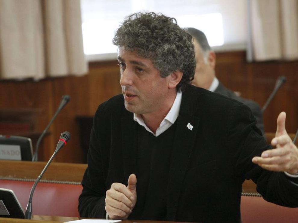 El senador del BNG José Manuel Pérez Bouza