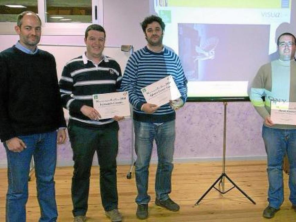 Acto de entrega de premios a los ganadores del concurso fotográfico Ambar Green 2010.