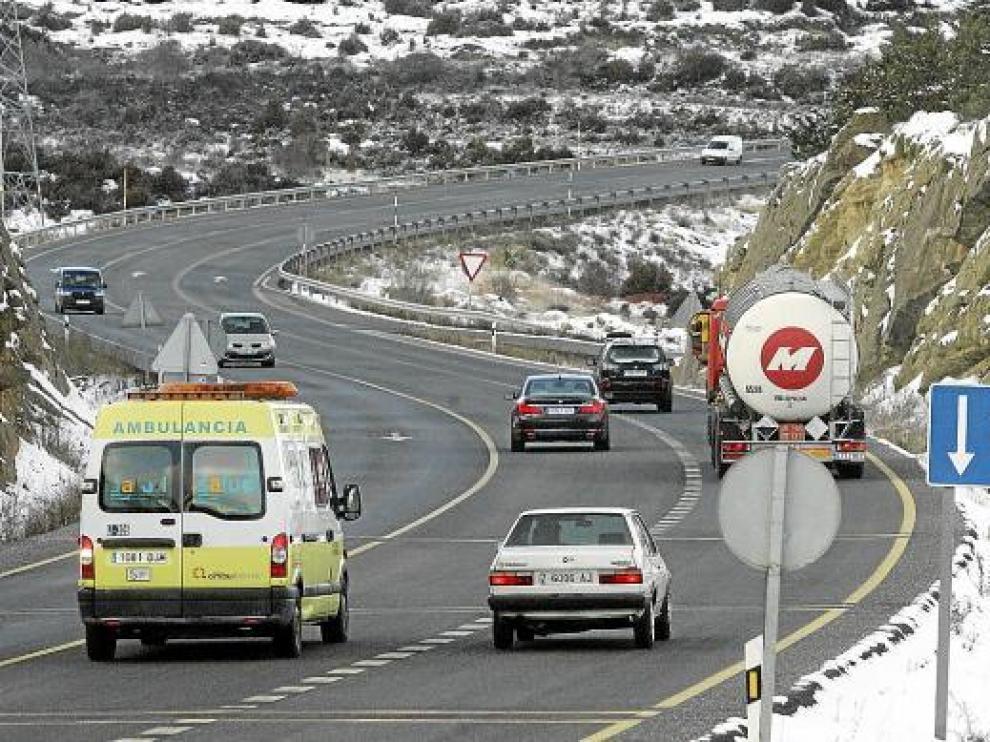 En el puerto de Monrepós -principal acceso a los valles de Tena y Aragón- el tráfico fue fluido.