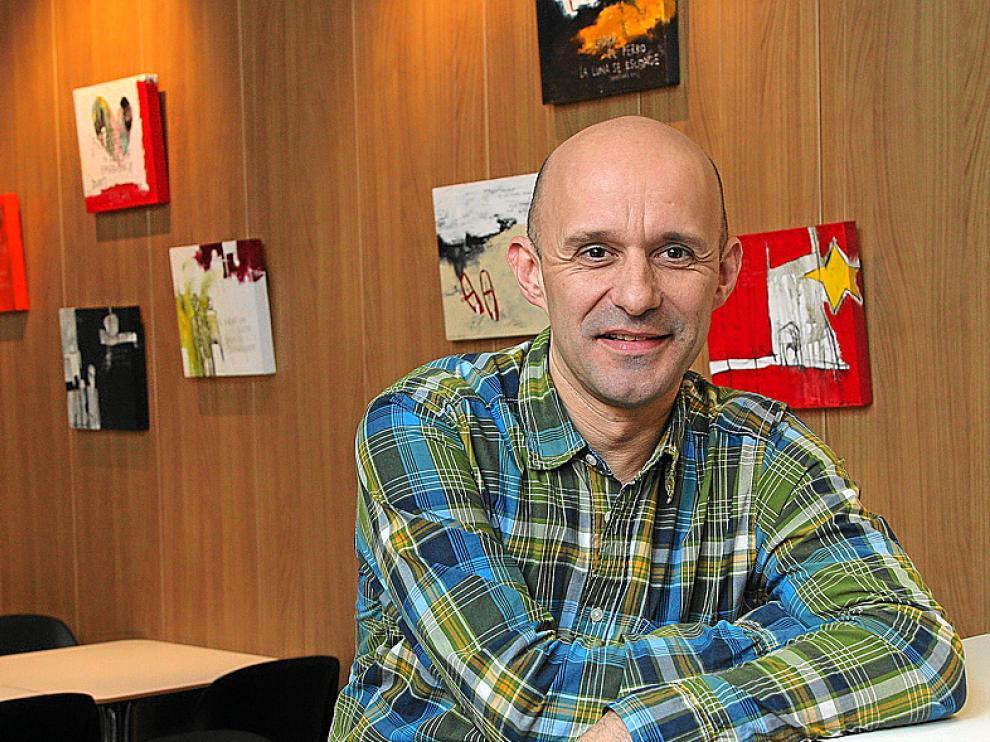 Pascal Frot, propietario del restaurante Quiche Me