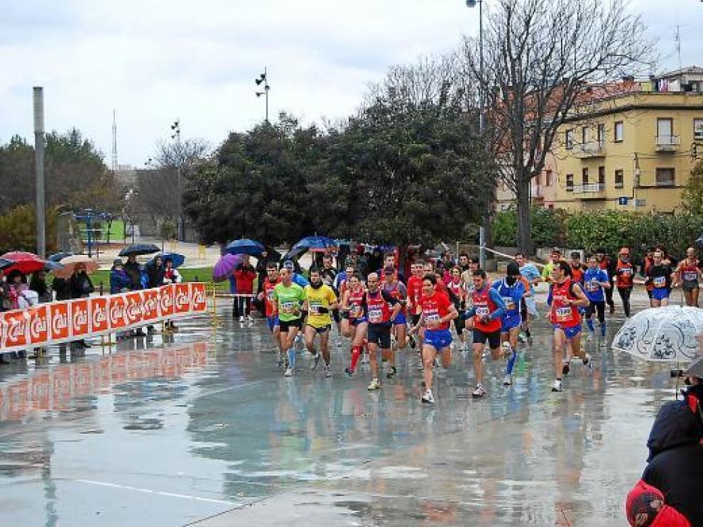 La carrera se desarrolló en unas pésimas condiciones climatológicas.