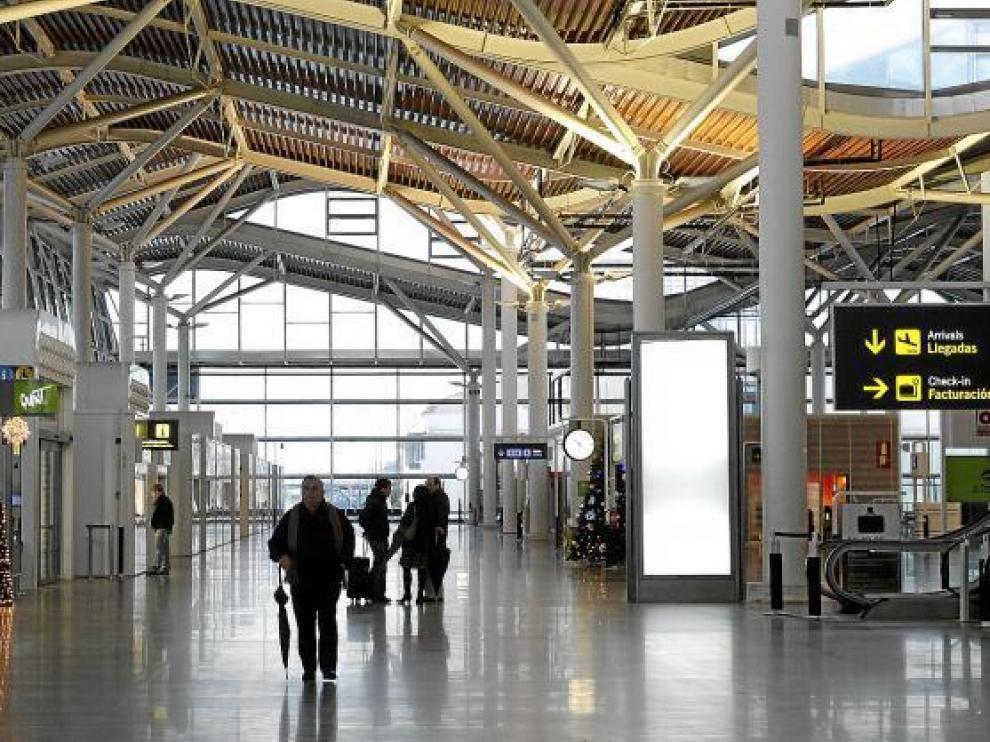 Imagen de la terminal de Zaragoza