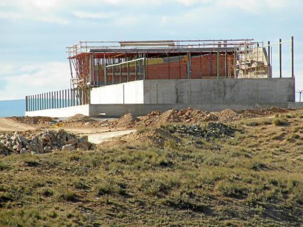 Solo una empresa ha iniciado obras para instalarse en el área industrial de Castelnou.