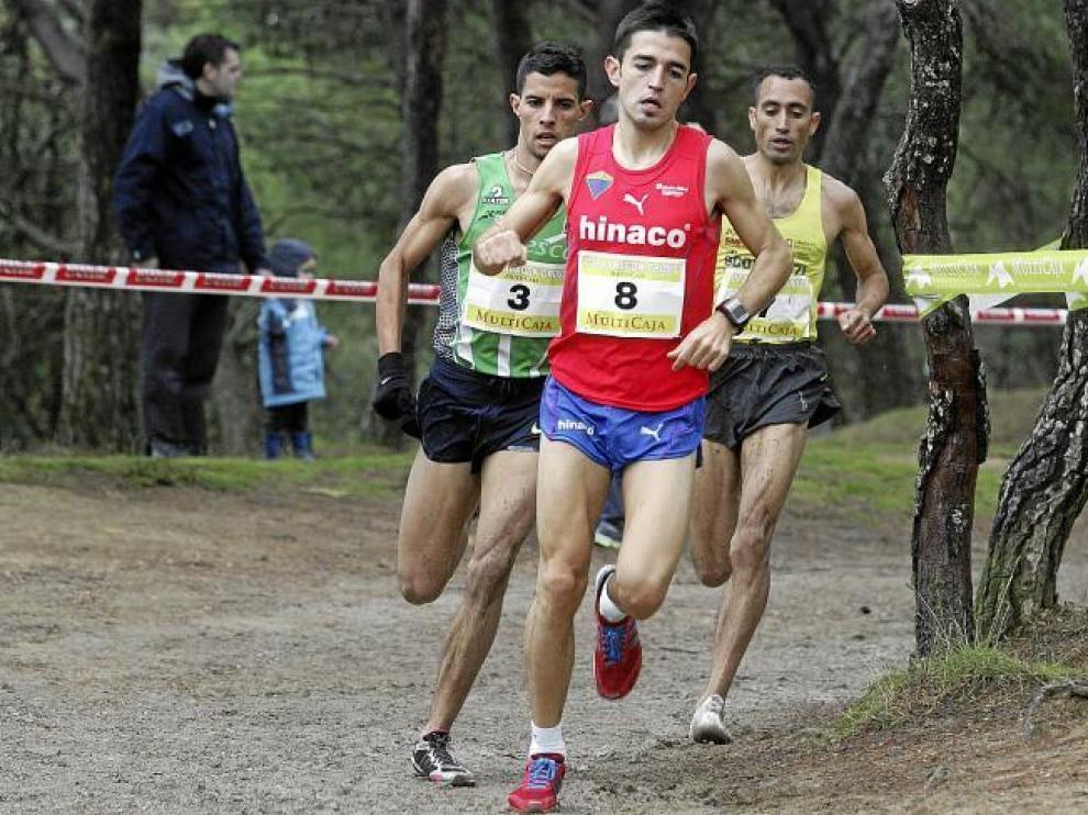 El aragonés Mariño encabeza la carrera, seguido por Alberto Sábado y El Wardi.