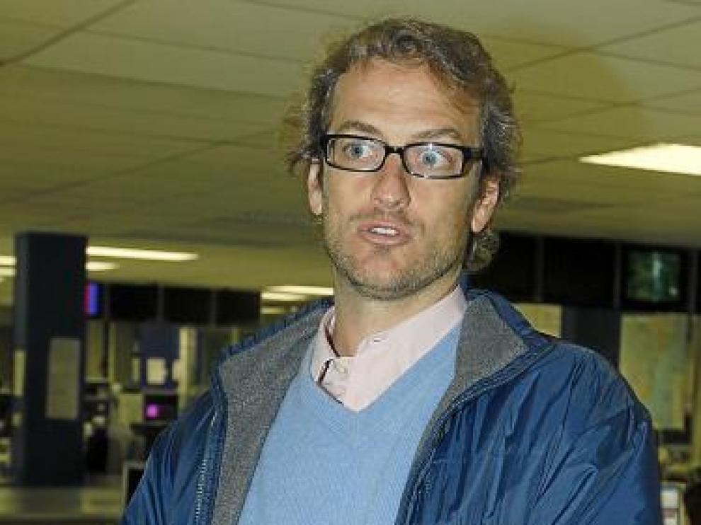 El portavoz del sindicato de controladores, César Cabo.