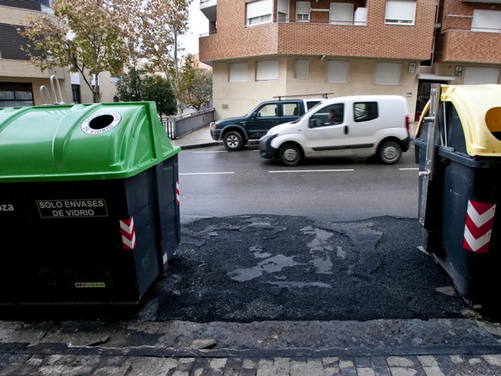 Los hechos ocurrieron en la calle Zafiro de la capital
