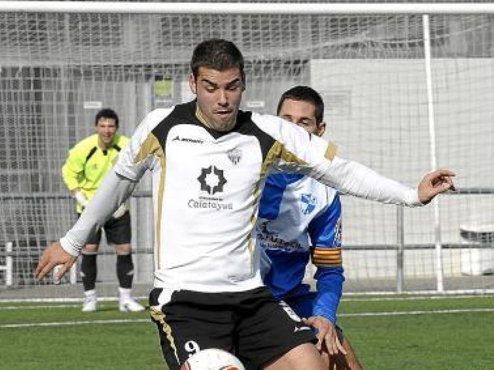 Carlos Pérez, que anotó dos goles, en una imagen de archivo.