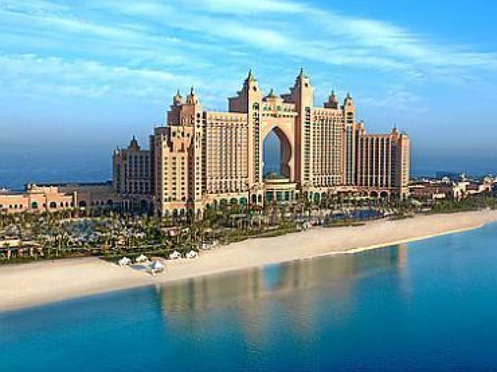 El 'resort' Atlantis, donde está el Nasimi Beach donde actuará DAB.