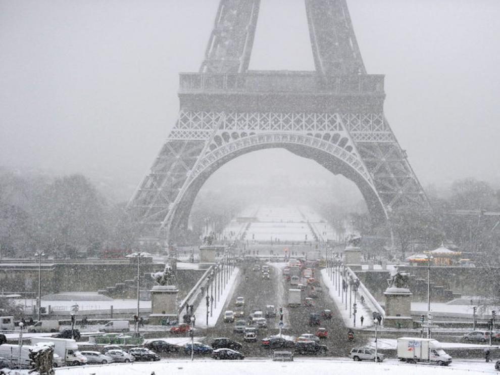 Los termómetros marcarán un máxima de 2 grados en París.